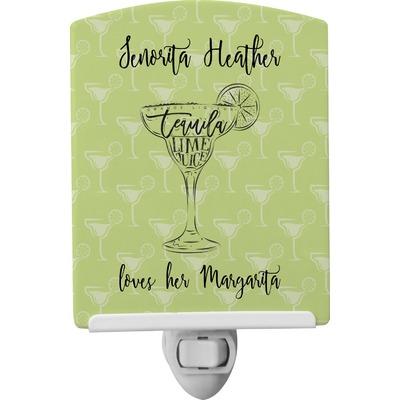 Margarita Lover Ceramic Night Light (Personalized)