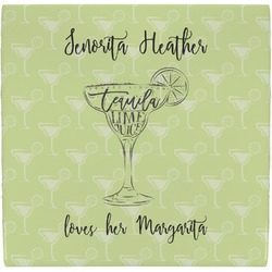 Margarita Lover Ceramic Tile Hot Pad (Personalized)