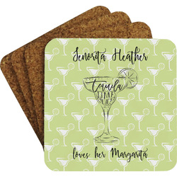 Margarita Lover Coaster Set (Personalized)