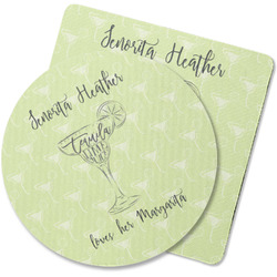 Margarita Lover Rubber Backed Coaster (Personalized)