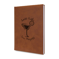 Margarita Lover Leatherette Journal (Personalized)