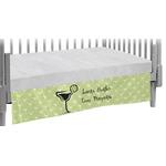 Margarita Lover Crib Skirt w/ Name or Text