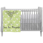Margarita Lover Crib Comforter / Quilt w/ Name or Text