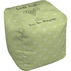 Margarita Lover Cube Pouf Ottoman (Personalized)