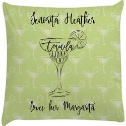Margarita Lover Decorative Pillow Case (Personalized)