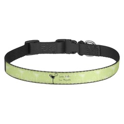 Margarita Lover Dog Collar (Personalized)