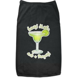 Margarita Lover Black Pet Shirt (Personalized)