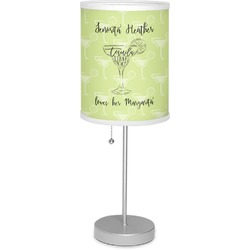 """Margarita Lover 7"""" Drum Lamp with Shade (Personalized)"""