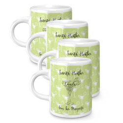 Margarita Lover Espresso Mugs - Set of 4 (Personalized)
