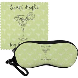 Margarita Lover Eyeglass Case & Cloth (Personalized)
