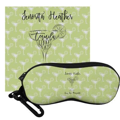 Margarita Lover Eyeglass Case & Cloth (Personalized)