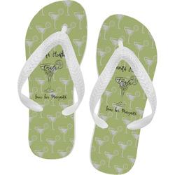 Margarita Lover Flip Flops (Personalized)