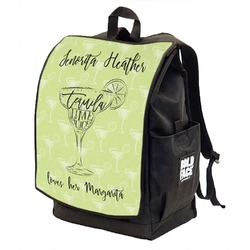 Margarita Lover Backpack w/ Front Flap  (Personalized)
