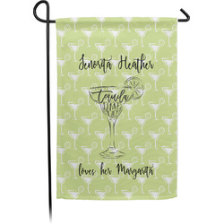 Margarita Lover Garden Flag - Single or Double Sided (Personalized)