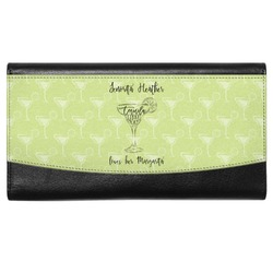 Margarita Lover Genuine Leather Ladies Wallet (Personalized)