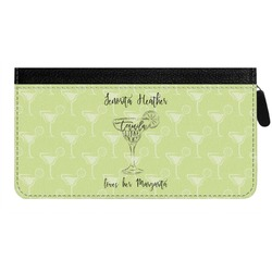 Margarita Lover Genuine Leather Ladies Zippered Wallet (Personalized)