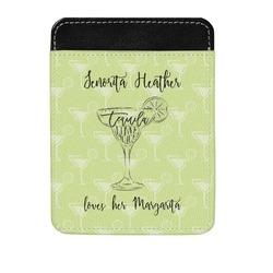 Margarita Lover Genuine Leather Money Clip (Personalized)