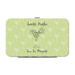 Margarita Lover Genuine Leather Small Framed Wallet (Personalized)