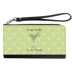 Margarita Lover Genuine Leather Smartphone Wrist Wallet (Personalized)