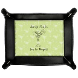 Margarita Lover Genuine Leather Valet Tray (Personalized)