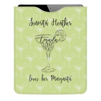 Margarita Lover Genuine Leather iPad Sleeve (Personalized)