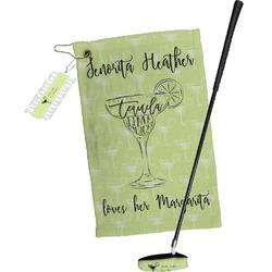 Margarita Lover Golf Towel Gift Set (Personalized)