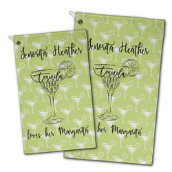 Margarita Lover Golf Towel - Full Print w/ Name or Text
