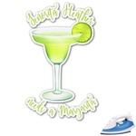 Margarita Lover Graphic Iron On Transfer (Personalized)
