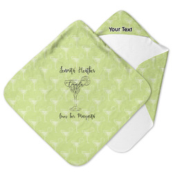Margarita Lover Hooded Baby Towel (Personalized)
