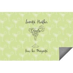 Margarita Lover Indoor / Outdoor Rug (Personalized)