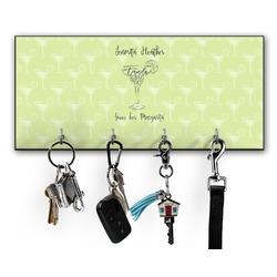 Margarita Lover Key Hanger w/ 4 Hooks (Personalized)
