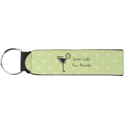 Margarita Lover Neoprene Keychain Fob (Personalized)