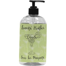 Margarita Lover Plastic Soap / Lotion Dispenser (Personalized)