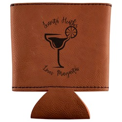 Margarita Lover Leatherette Can Sleeve (Personalized)