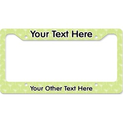 Margarita Lover License Plate Frame (Personalized)