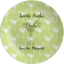 Margarita Lover Melamine Plate (Personalized)