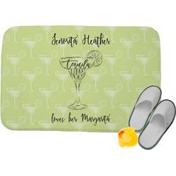 Margarita Lover Memory Foam Bath Mat (Personalized)