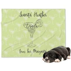Margarita Lover Minky Dog Blanket (Personalized)