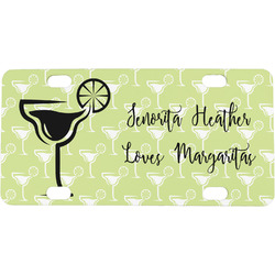 Margarita Lover Mini / Bicycle License Plate (Personalized)