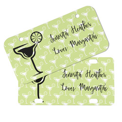 Margarita Lover Mini/Bicycle License Plates (Personalized)