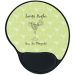 Margarita Lover Mouse Pad with Wrist Support