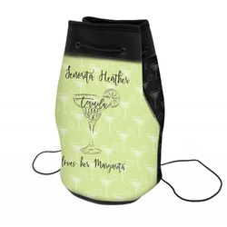 Margarita Lover Neoprene Drawstring Backpack (Personalized)