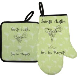 Margarita Lover Oven Mitt & Pot Holder (Personalized)