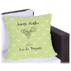 Margarita Lover Outdoor Pillow (Personalized)