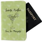 Margarita Lover Passport Holder - Fabric (Personalized)