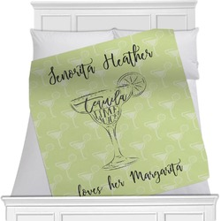 Margarita Lover Minky Blanket (Personalized)