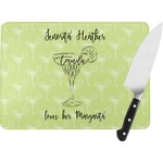 Margarita Lover Rectangular Glass Cutting Board (Personalized)