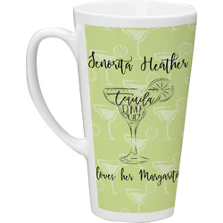 Margarita Lover Latte Mug (Personalized)