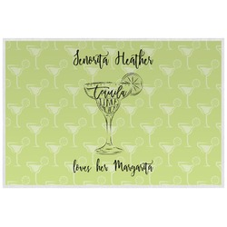 Margarita Lover Laminated Placemat w/ Name or Text