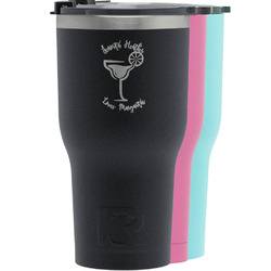 Margarita Lover RTIC Tumbler - Black (Personalized)